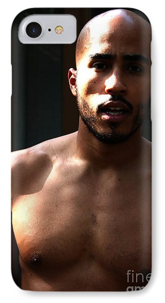 Carlos Portrait IPhone Case by Robert D McBain