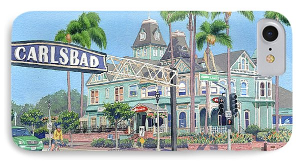 Carlsbad California IPhone Case