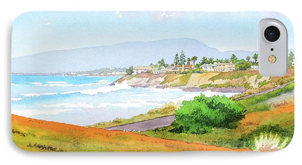 Carlsbad Rt. 101 Sunny Day IPhone Case by Mary Helmreich