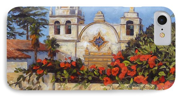 Carmel Mission Phone Case by Shelley Cost