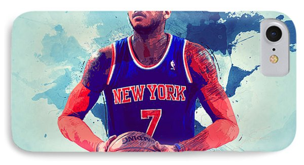 Carmelo Anthony IPhone Case
