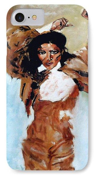 Carmen Amaya IPhone Case by Manuel Sanchez