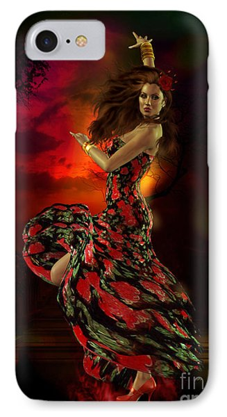 Carmen IPhone Case by Shanina Conway