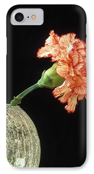 Carnation Phone Case by Laurie Paci