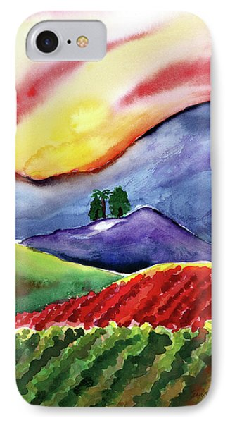 Carneros Sunset Phone Case by Amelia Hunter