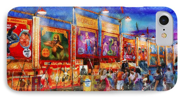 Carnival - World Of Wonders Phone Case by Mike Savad