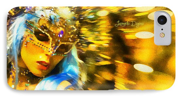 Carnival Fantasy - Da IPhone Case by Leonardo Digenio
