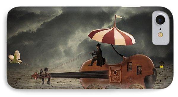 Mr. Dark IPhone Case by Juli Scalzi