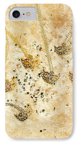 Carnival Masquerade Jewels IPhone Case by Jorgo Photography - Wall Art Gallery