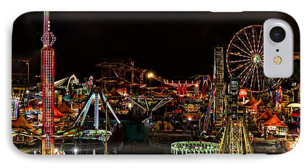 IPhone Case featuring the photograph Carnival Midway by Linda Constant