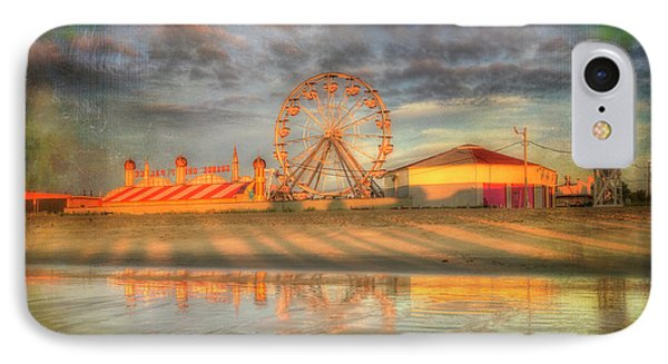 Carnival - Old Orchard Beach - Maine IPhone Case by Joann Vitali
