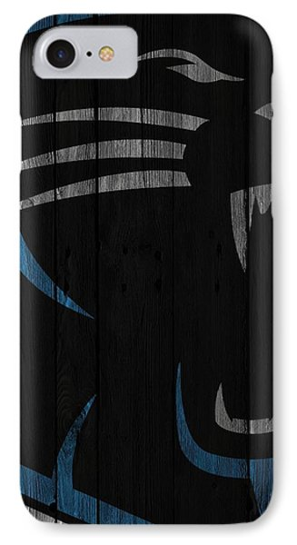 Caroilina Panthers Wood Fence IPhone 7 Case