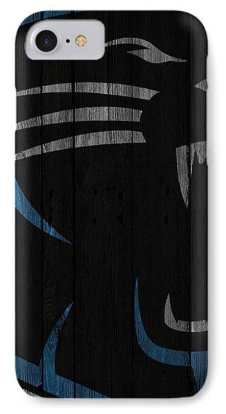 Caroilina Panthers Wood Fence IPhone 7 Case by Joe Hamilton