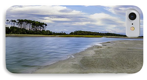 Carolina Inlet At Low Tide IPhone Case