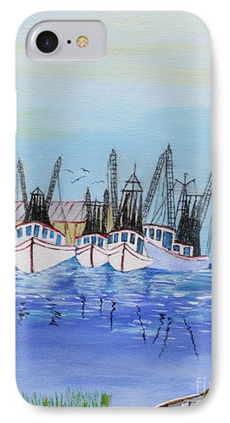 Carolina Shrimpers IPhone Case by Bill Hubbard