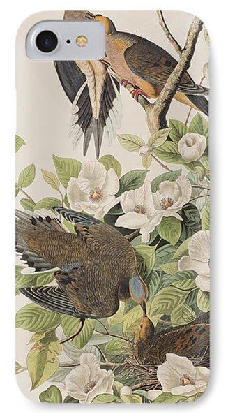 Carolina Turtle Dove IPhone 7 Case by John James Audubon