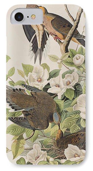 Carolina Turtle Dove IPhone Case by John James Audubon