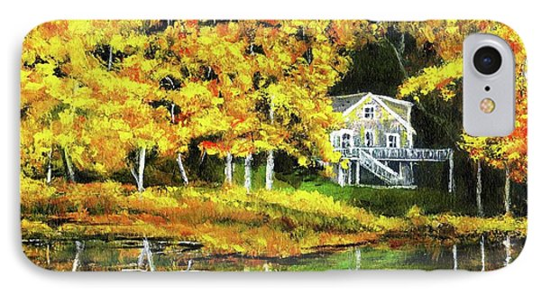 Carol's House IPhone Case by Randy Sprout