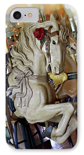 Carousel Belle IPhone Case by Melanie Alexandra Price
