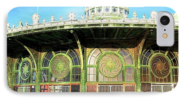Carousel Building, Asbury Park IPhone Case by Bob Cuthbert