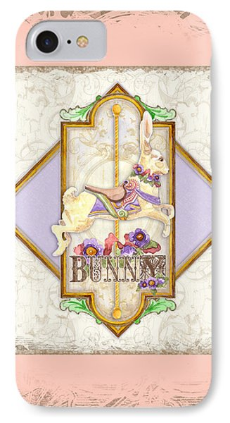 Carousel Dreams - Bunny IPhone Case