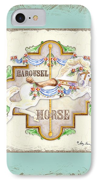 Carousel Dreams - Horse IPhone Case