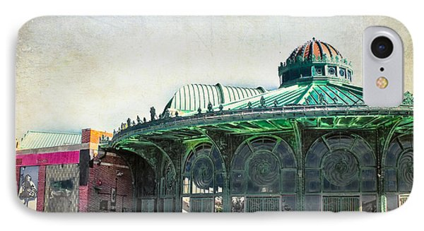 Carousel House At Asbury Park IPhone Case by Colleen Kammerer