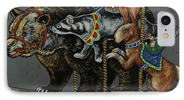 Carousel Kids 4 Phone Case by Rich Travis