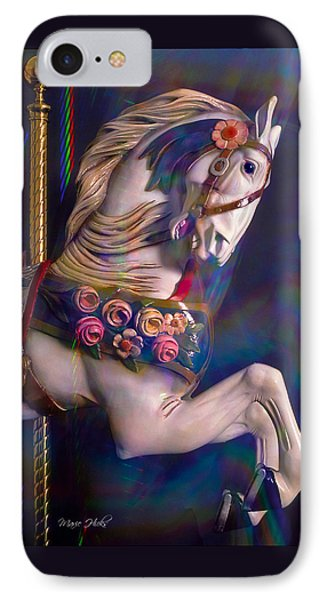 IPhone Case featuring the photograph Carousel Memories by Marie Hicks