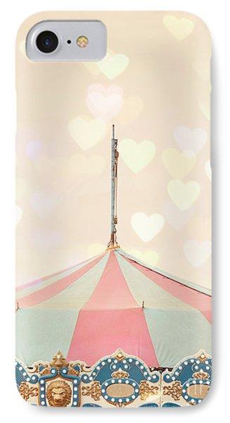 Carousel Tent IPhone Case by Juli Scalzi