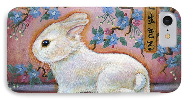 Carpe Diem Rabbit IPhone Case