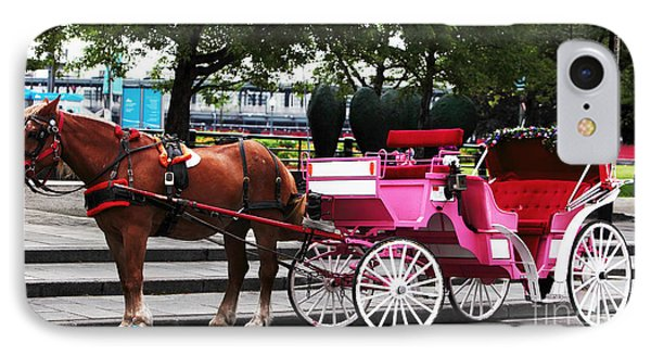 Carriage Ride In Montreal IPhone Case