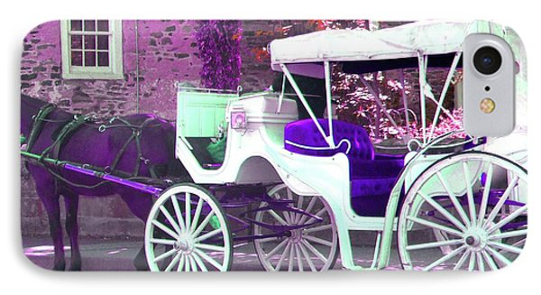 IPhone Case featuring the photograph Carriage Ride by Susan Carella