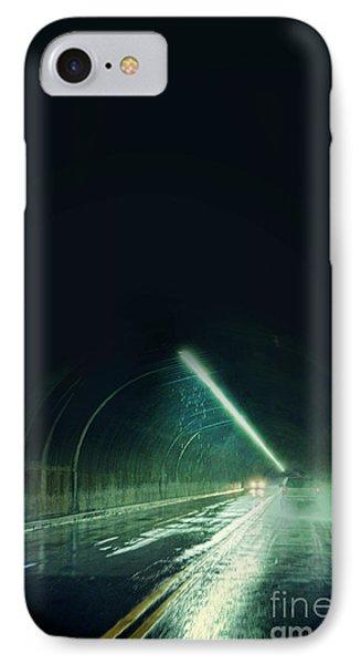 Cars In A Dark Tunnel IPhone Case by Jill Battaglia