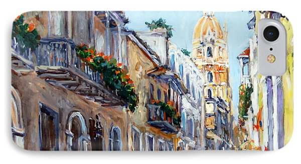 Cartagena Colombia IPhone Case by Alexandra Maria Ethlyn Cheshire