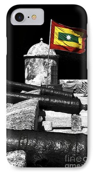 Cartagena Walled City Phone Case by John Rizzuto