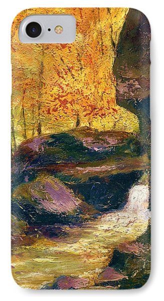 IPhone Case featuring the painting Carter Caves Kentucky by Gail Kirtz