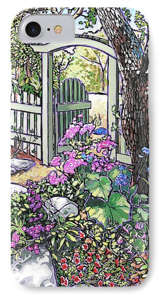 Carter Garden IPhone Case by Nadi Spencer