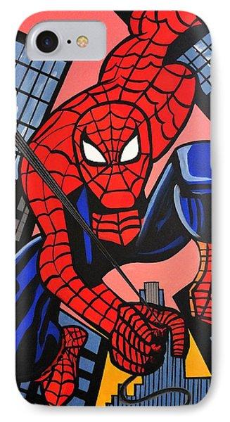 Cartoon Spiderman IPhone Case
