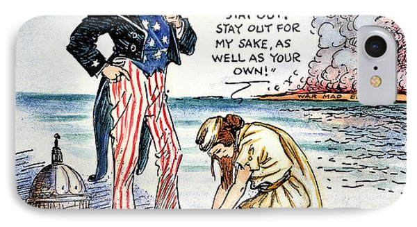 Cartoon: U.s. Intervention Phone Case by Granger