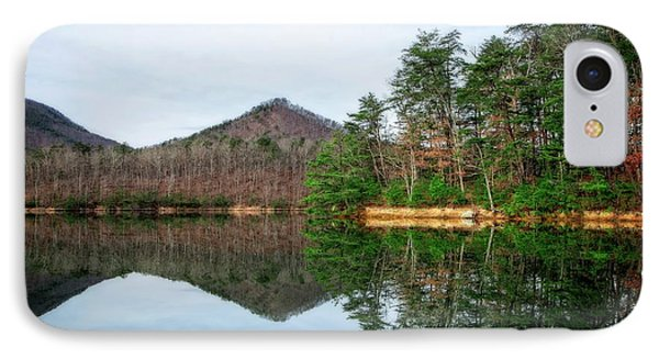 IPhone Case featuring the photograph Carvins Cove  by Alan Raasch