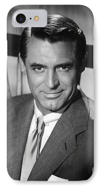 Cary Grant (1904-1986) IPhone Case by Granger