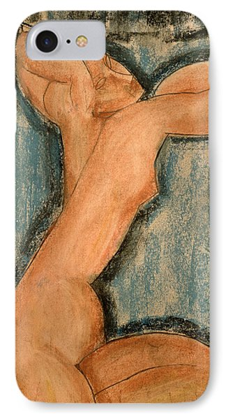 Caryatid Phone Case by Amedeo Modigliani