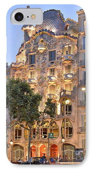 Casa Batllo Barcelona  IPhone Case by Marek Stepan