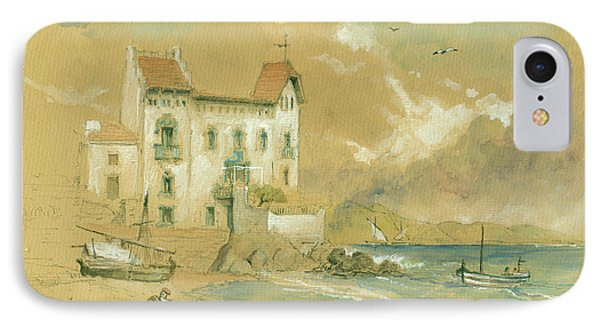 Casa Blava Cadaques IPhone Case by Juan Bosco