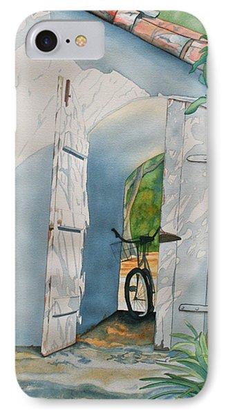 IPhone Case featuring the painting Casa De Teresita by Teresa Beyer