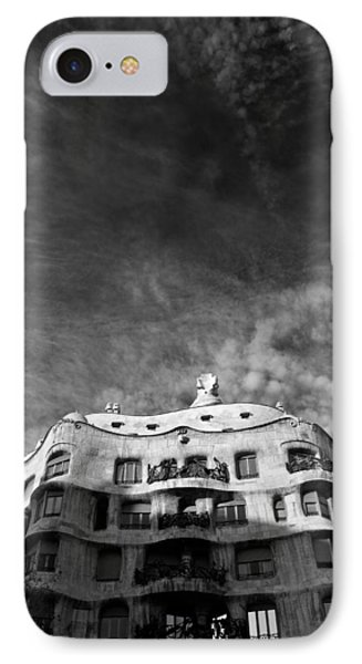 Casa Mila Phone Case by Dave Bowman
