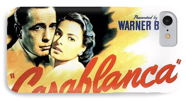 Casablanca IPhone Case by Movie Poster Prints