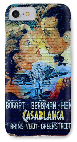 IPhone Case featuring the photograph Casablanca Mural 2013 by Padre Art