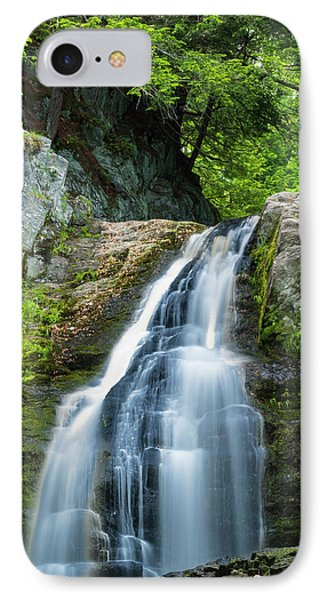 IPhone Case featuring the photograph Cascade Falls In South Portland In Maine by Ranjay Mitra